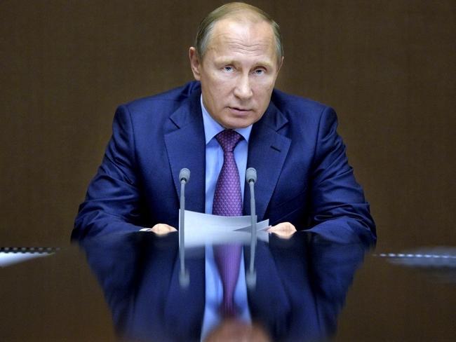 Russian President Vladimir Putin is a strong ally of Assad. Picture: Alexei Druzhinin/Sputnik, Kremlin Pool Photo/AP