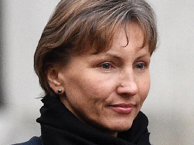 Marina Litvinenko, widow of Russian former spy Alexander Litvinenko, said she has 'no idea' if the claims are true. Picture: Justin Tallis / AFP