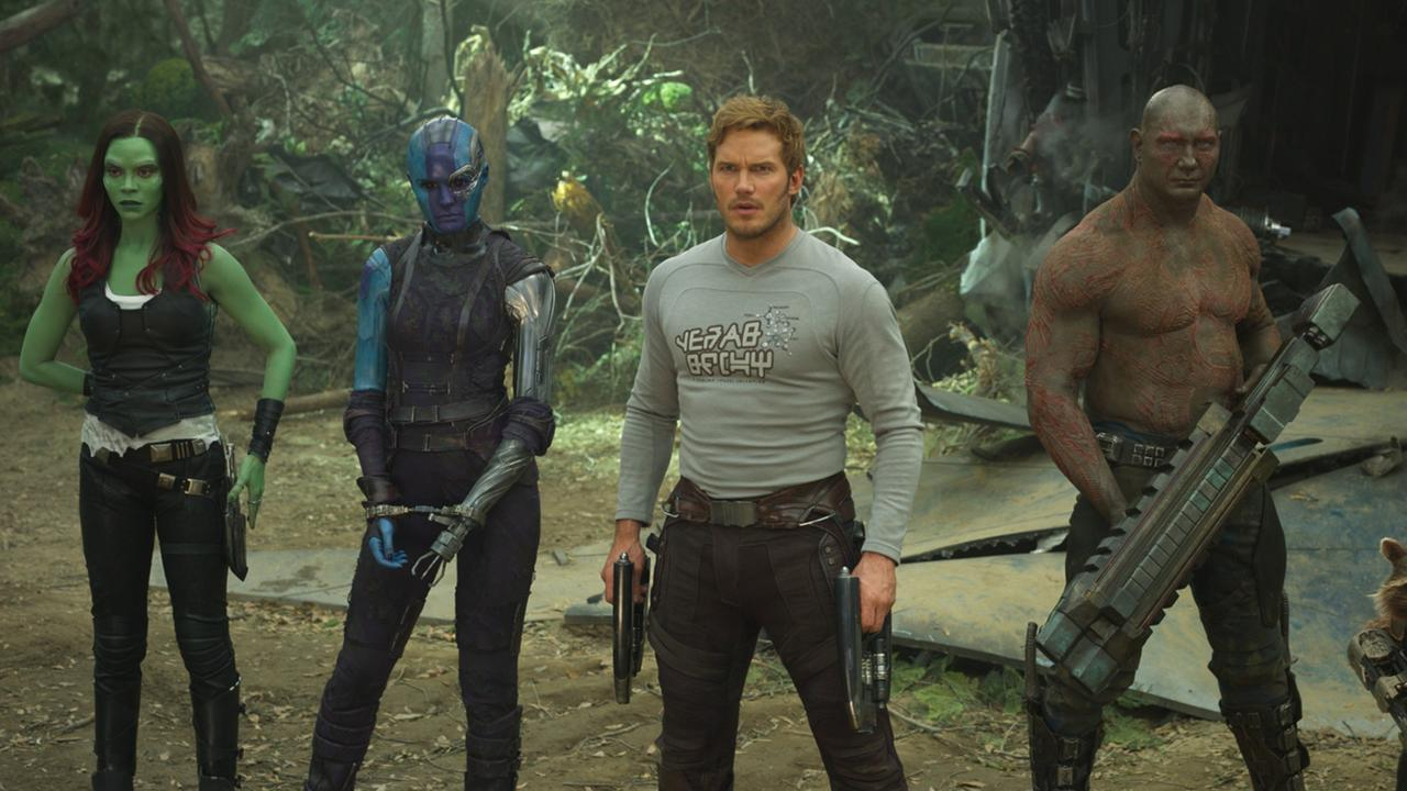 The making of <i>Guardians Of The Galaxy 3 </i>was also revealed. Picture: Marvel Studios