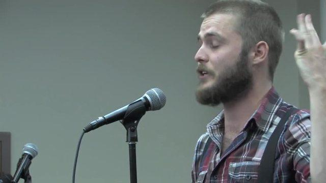 Poet Neil Hilborn tells the emotional story of falling in love with a girl as a teenager while he struggled with severe obsessive compulsive disorder. Courtesy Button Poetry