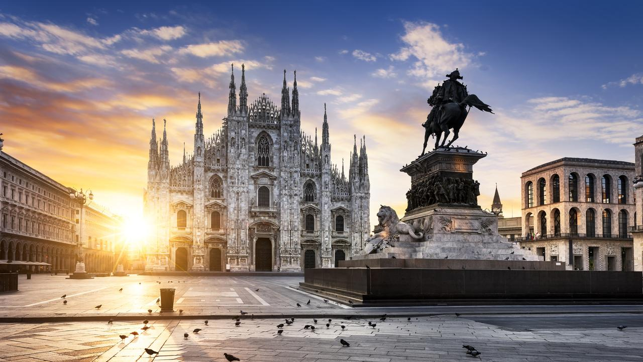 Duomo at sunrise in Milan. Picture: iStock
