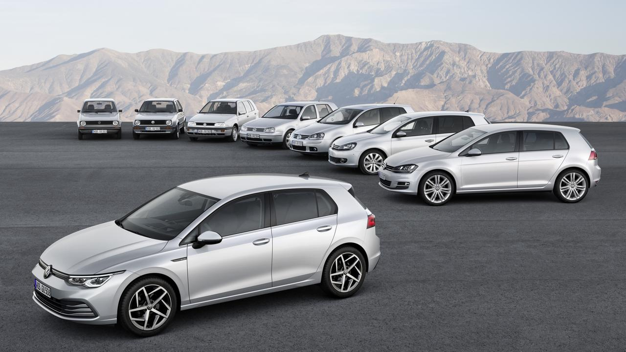 The new Golf 8 is the first Volkswagen with car-to-x communication technology.