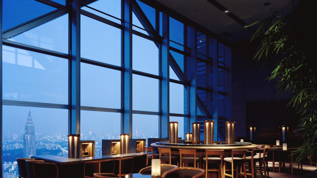 Park Hyatt one of the best bar views in Tokyo. Picture: Hyatt