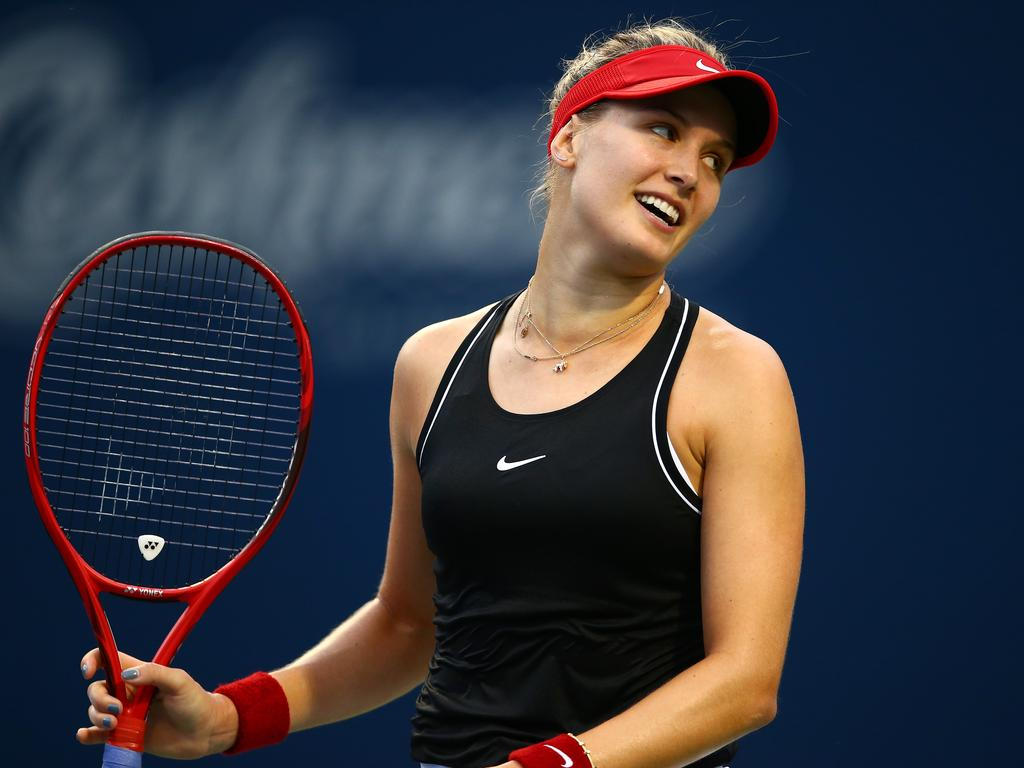 Bouchard's dating life attracts as much attention as her tennis.