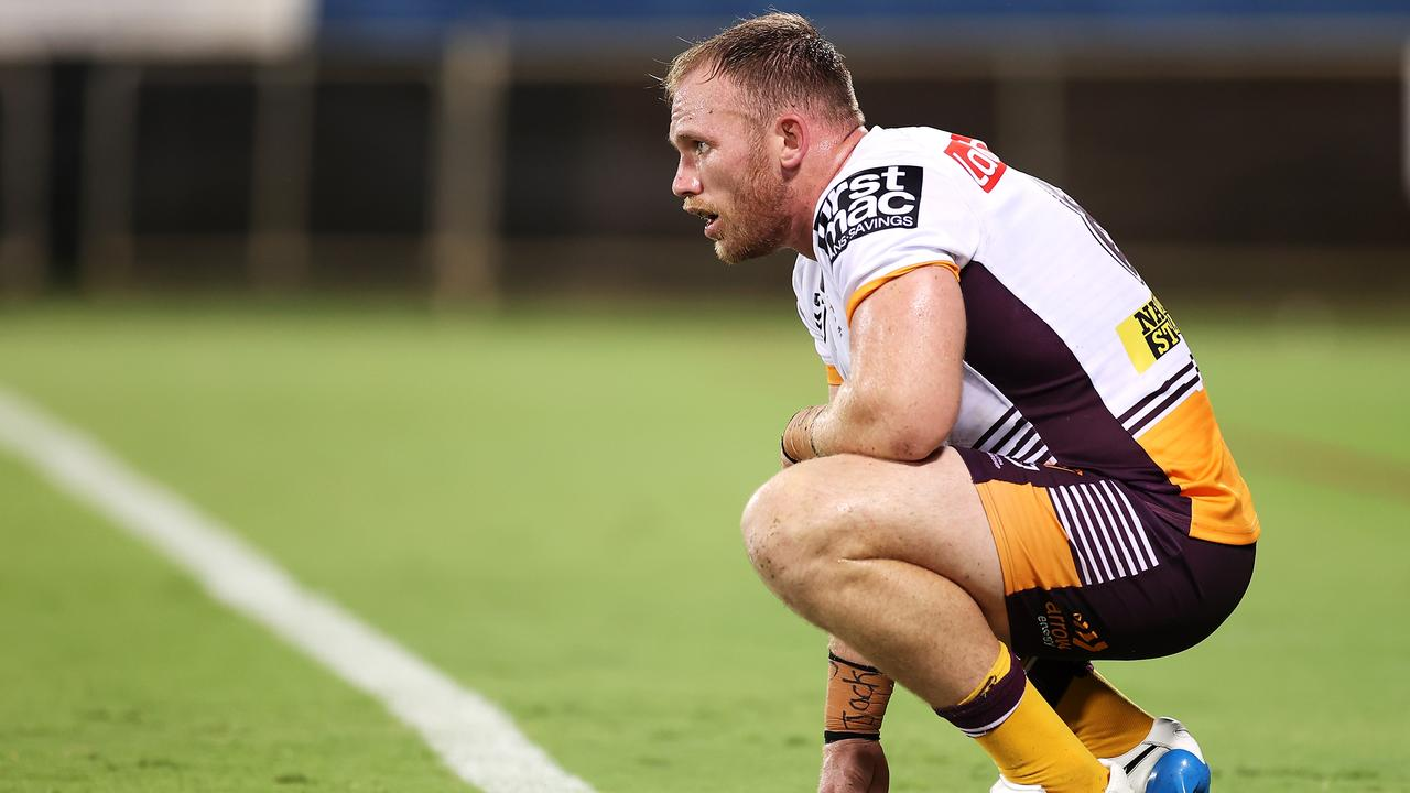 Matt Lodge is staying in Brisbane... for now.