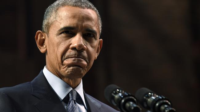 US President Barack Obama. 'His influence is shrinking'. Picture: AP Photo/Susan Walsh