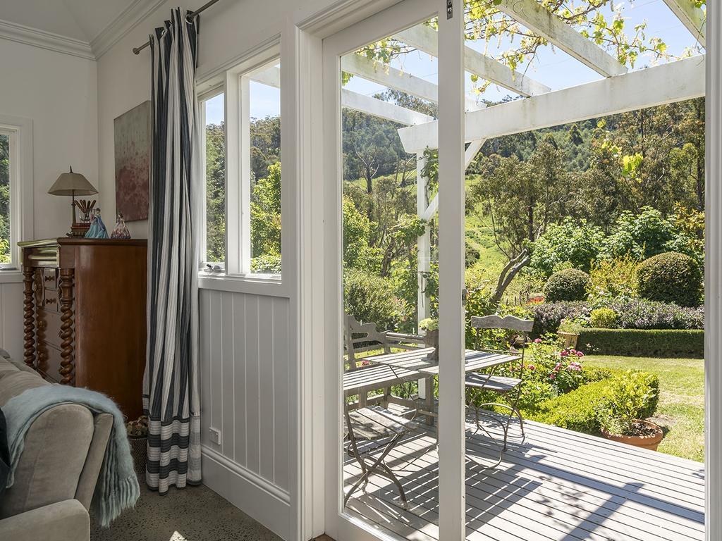 Beautiful, framed garden views.