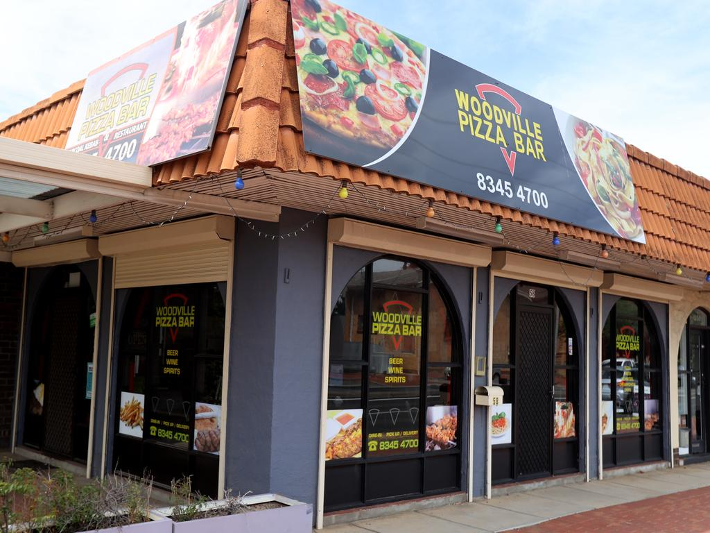 Woodville Pizza Bar in Woodville. Picture: Kelly Barnes/Getty Images