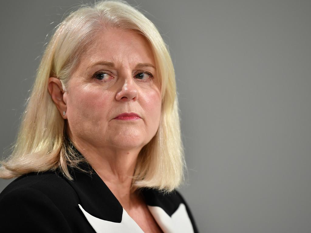 Minister for Home Affairs Karen Andrews said prosecutors were behind the delay in the decision about whether to charge Higgins' alleged rapist. Picture: NCA NewsWire/Joel Carrett