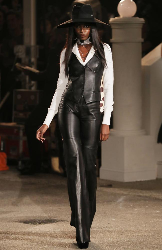 An outfit fit for a female James Bond. Picture: Getty Images