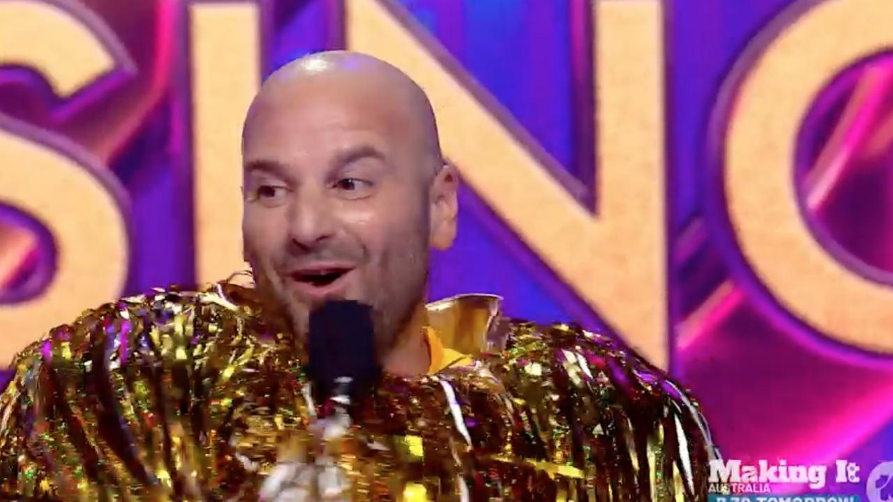 And the Duster is … George Calombaris.