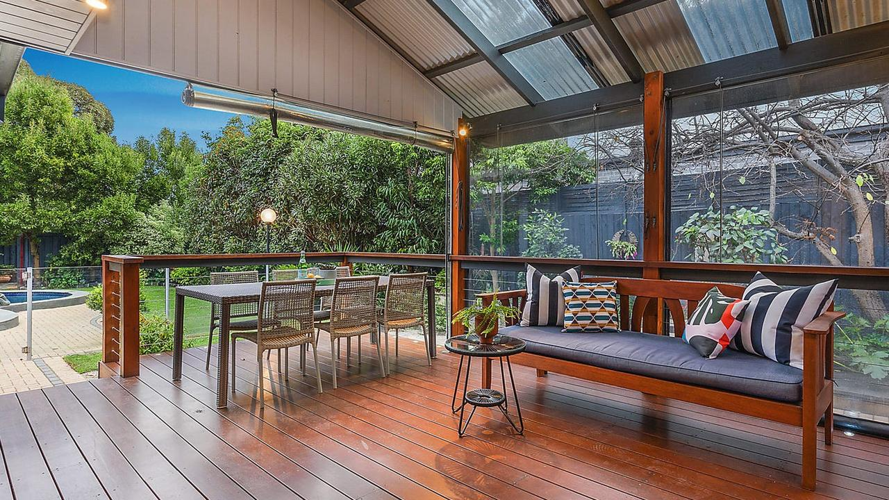 There's also an undercover deck area for entertaining all year round.