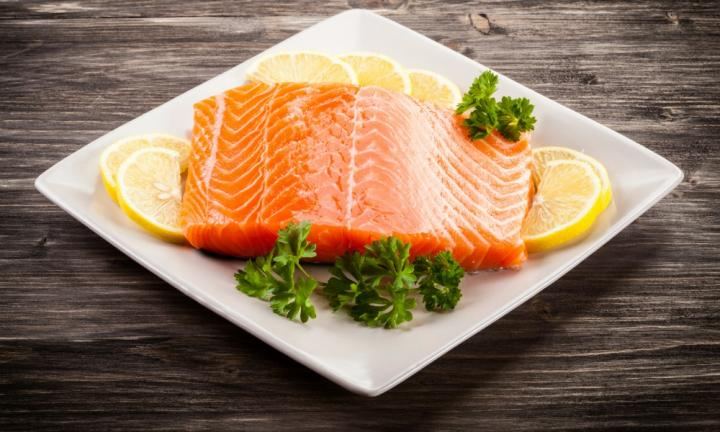 "SALMON <p>""Australian farmed and it tastes fantastic when you eat it fresh. it's always available, too,"" says a Kidspot mum. </p>"