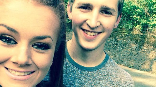 Young couple claim they were poverty-shamed after complaining about being overcharged for a meal at McDonald's. Picture: Facebook