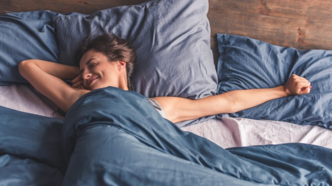 Be sure to try out these sleep solutions to wake up ACTUALLY feeling rested. Image: iStock.