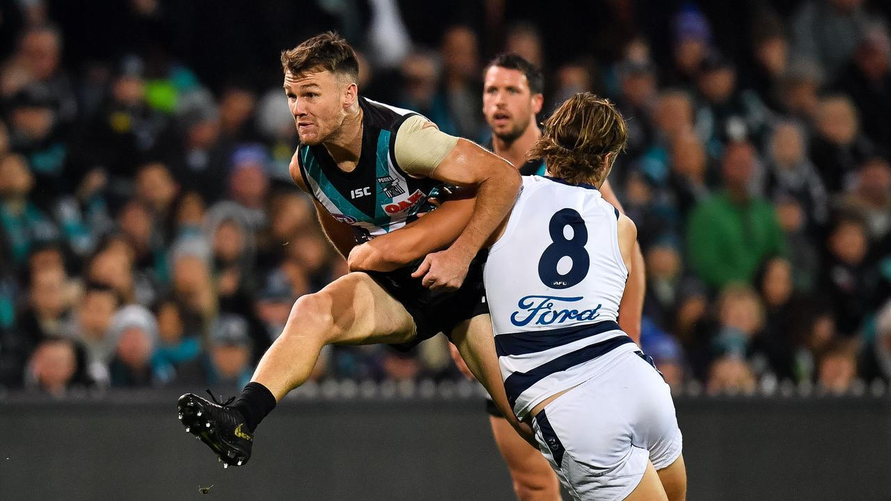 Robbie Gray of the Power has returned to terrific SuperCoach form