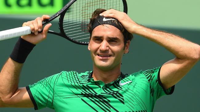 Federer is having a stellar 2017.