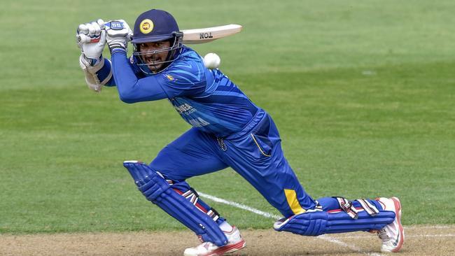 Sri Lanka's Kumar Sangakkara is one of the game's premier batsmen.