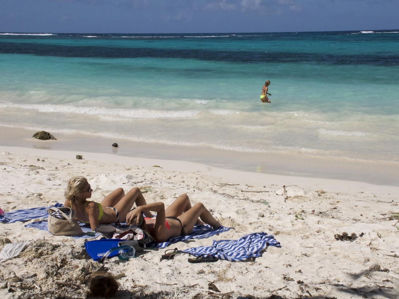 Travel Guides. South Pacific cruise. Picture: Channel 9