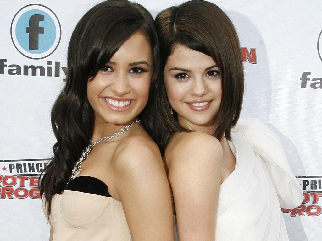 Demi Lovato and Selena Gomez have known each other since they were seven.  Picture:  Supplied