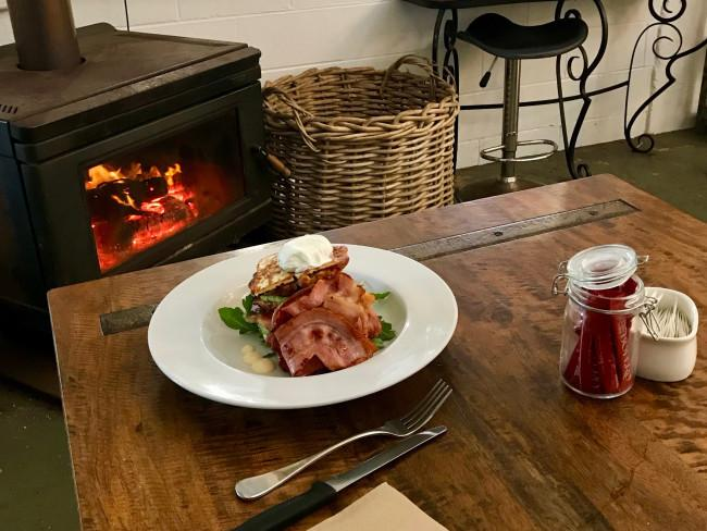 Fritters by the fireplace (at least in winter) is a must in Bello. Picture: John Burfitt
