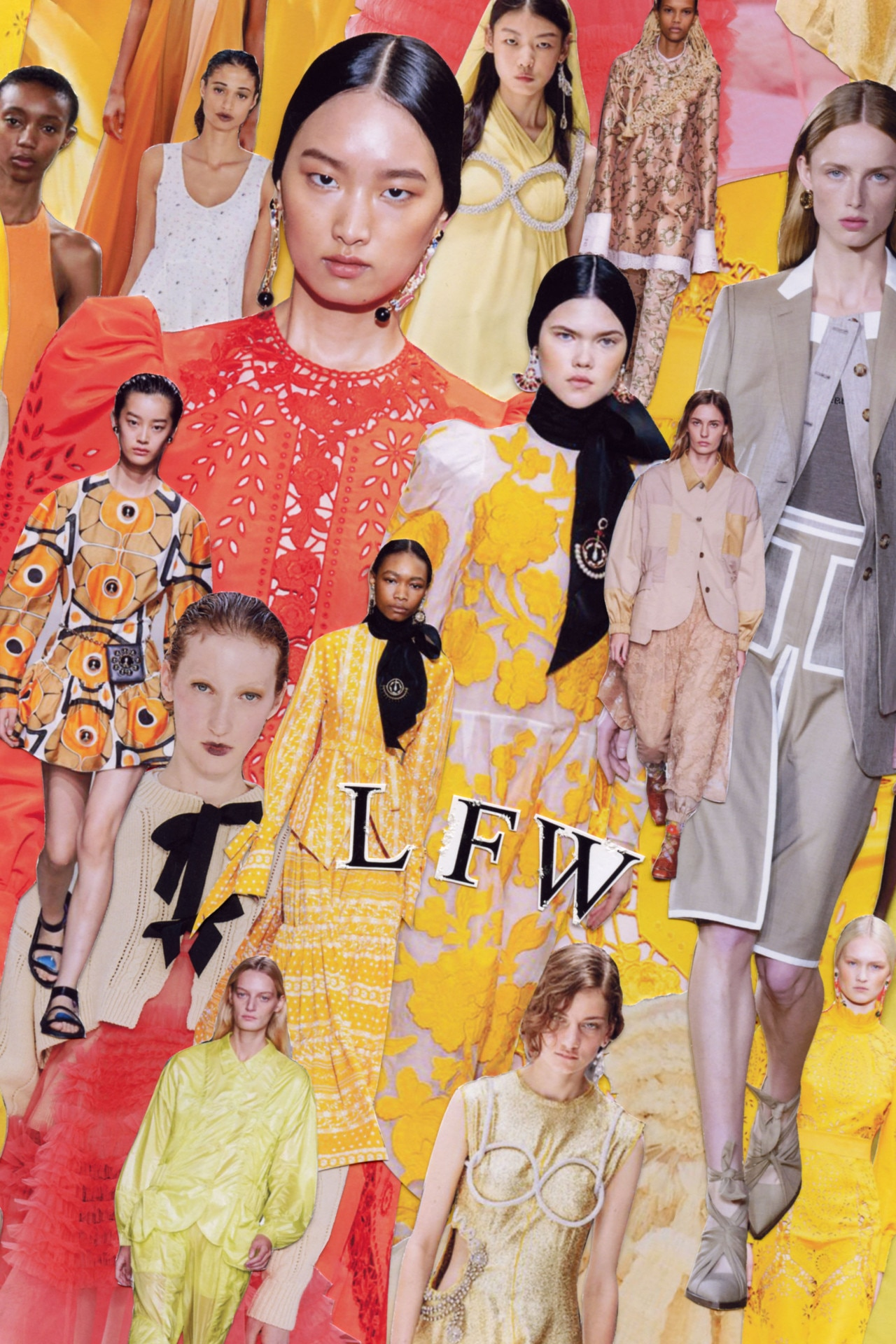 5 fashion trends from London Fashion Week spring/summer 2020 to know