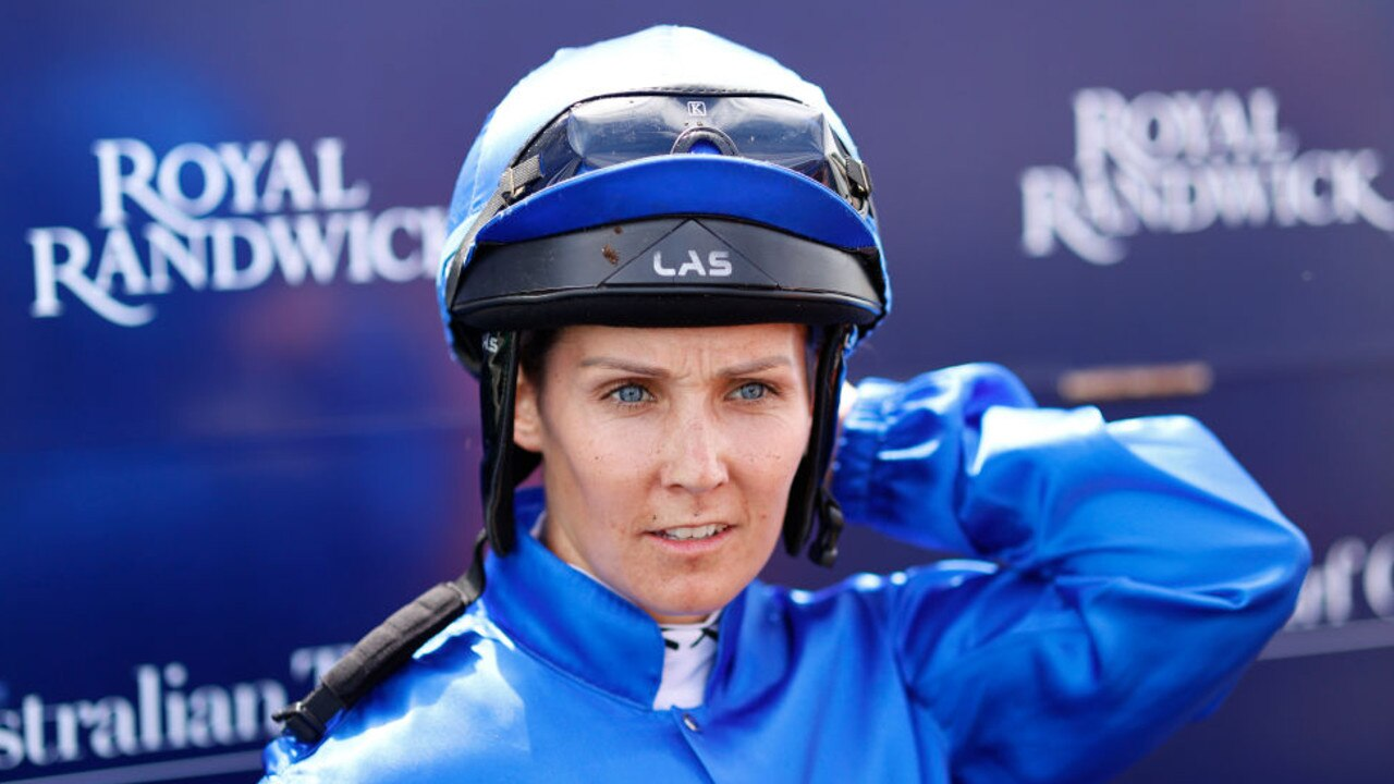 Rachel King rode Anamoe to victory in the Todman Stakes. Picture: Getty Images