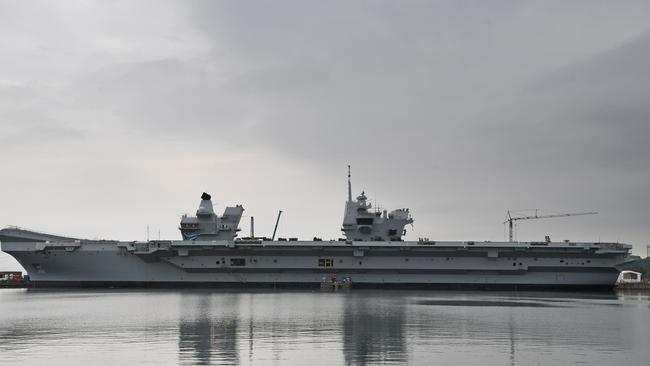 HMS Queen Elizabeth is undertaking sea trials this summer. Picture: Jeff J Mitchell/Getty Images