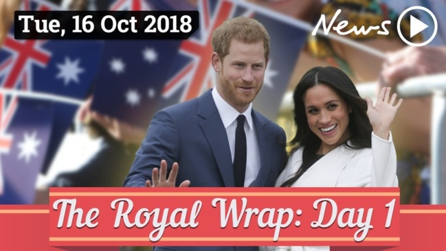 Royal Tour Wrap: Day One