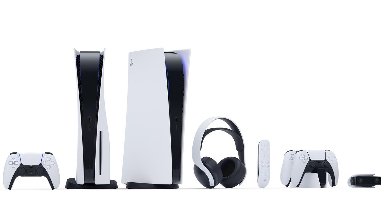 Sony has embraced a white design on the launch console for the first time.