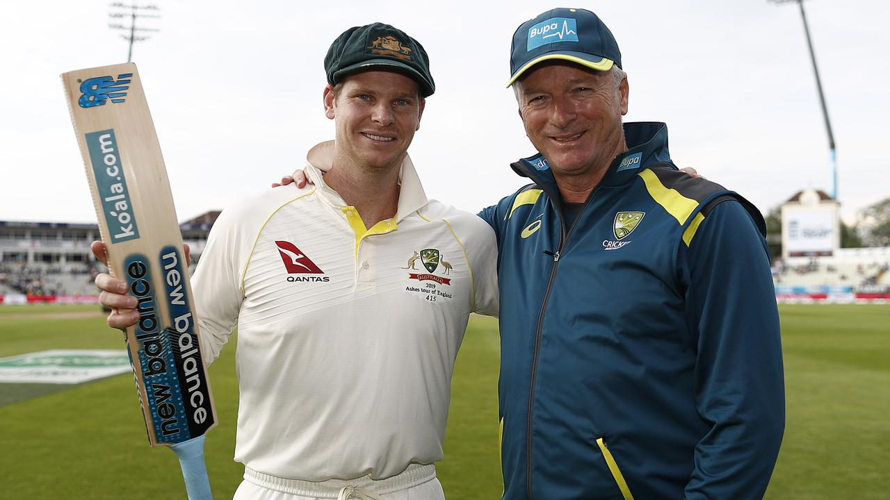 In 2019 at Edgbaston, Steve Smith became the first Australian since Steve Waugh to score two centuries in the same match in England. Picture: Ryan Pierse/Getty Images