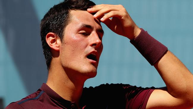 Tomic isn't endearing himself to fans.