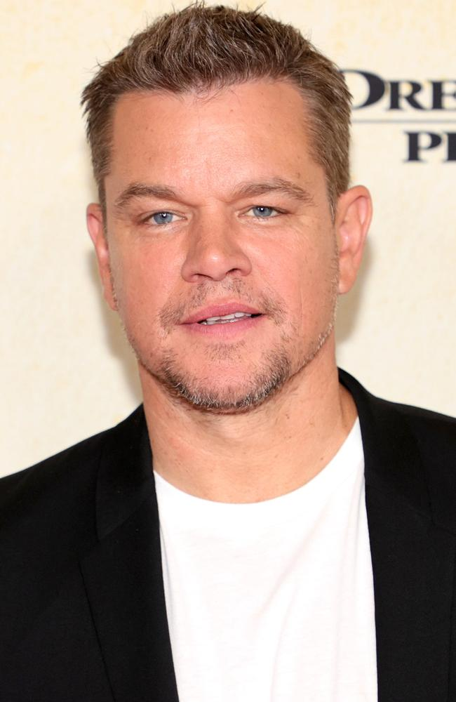 Matt Damon gave the brutally honest interview with The Sunday Times. Picture: Theo Wargo/Getty Images
