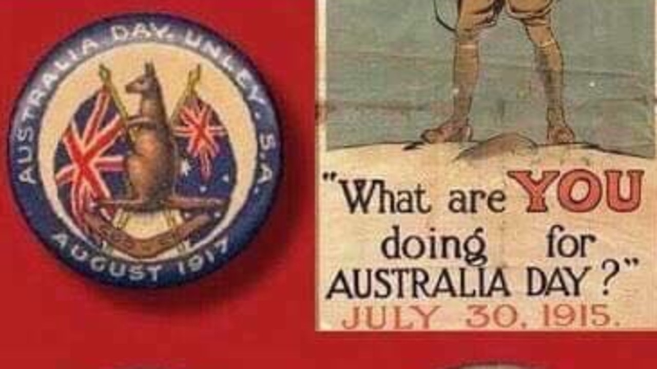 Australia Day was first celebrated on July 30, 1915.