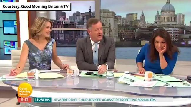 Piers Morgan's co-host says she wants to 'unfriend' him