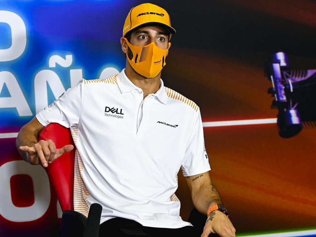 Daniel Ricciardo of Australia.