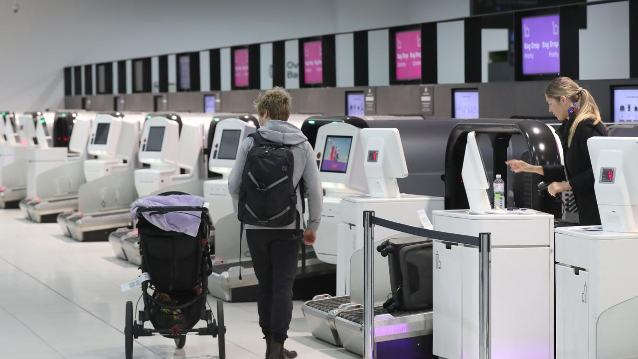 What will flying look like in a post-COVID world? Picture: David Crosling/NCA NewsWire