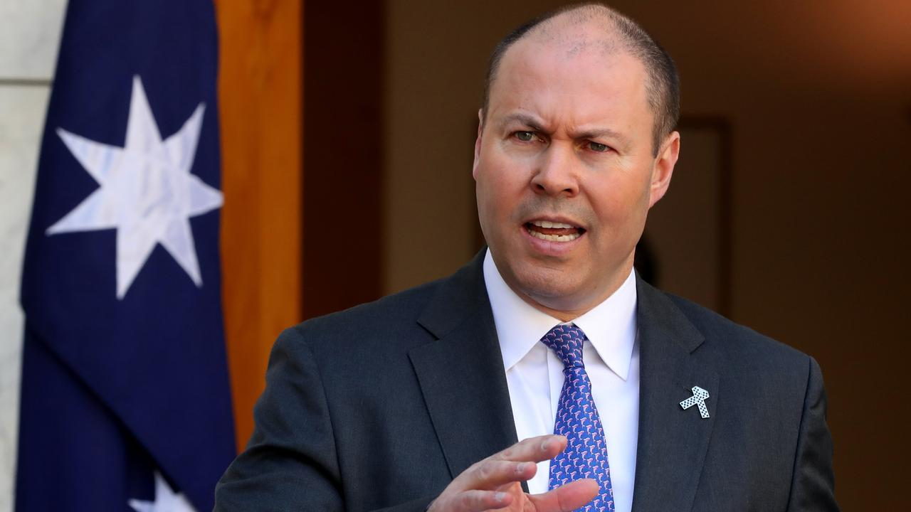 Treasurer Josh Frydenberg is planning to backdate personal income tax cuts in Tuesday night's budget ensuring workers have more money in their pockets and don't have to wait for tax relief. Picture: Adam Taylor