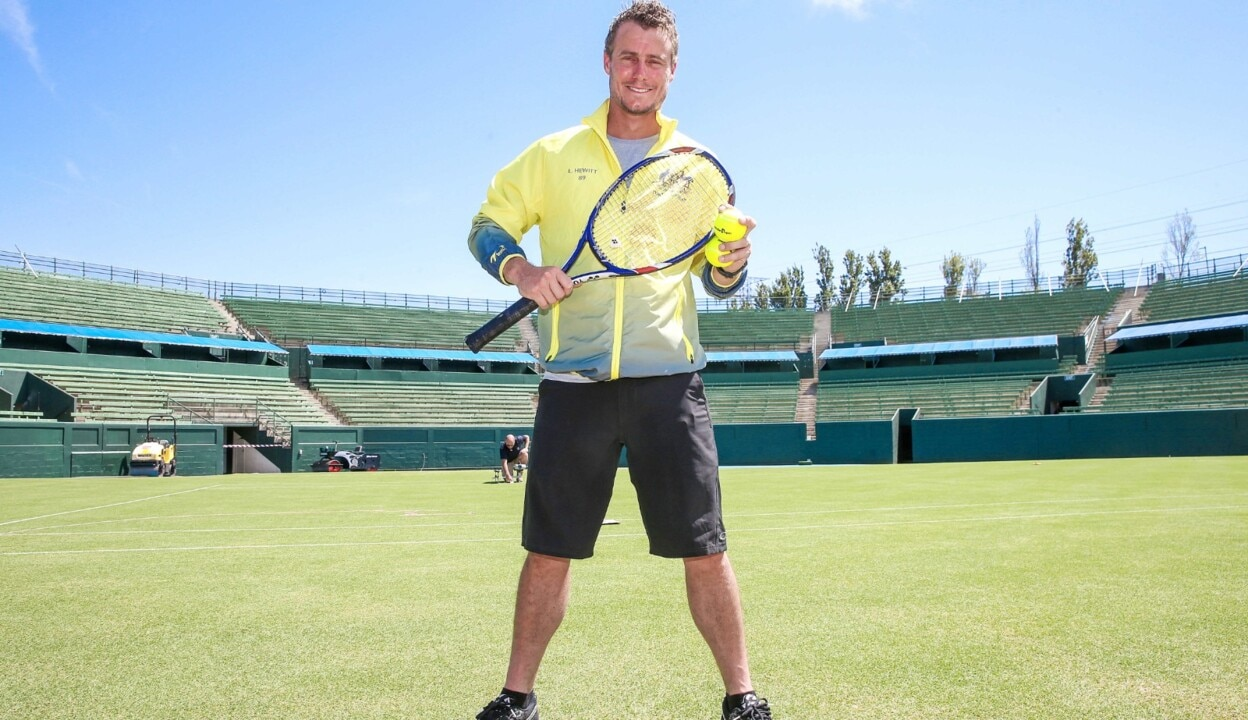 Lleyton Hewitt discusses International Tennis Hall of Fame nomination