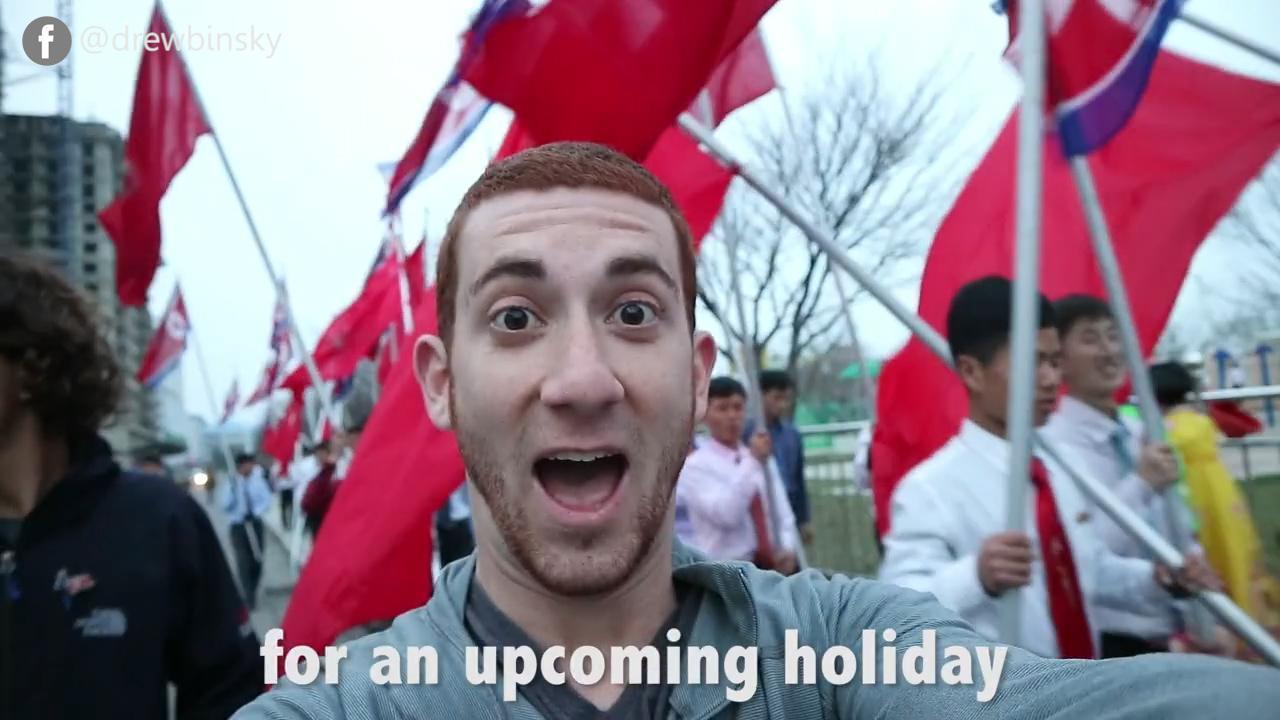 3 days in North Korea