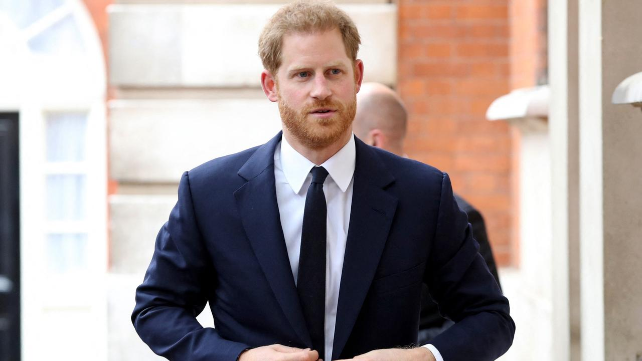 Harry will join his brother in unveiling the Diana statue on what would have been his mother's 60th birthday. Picture: AFP
