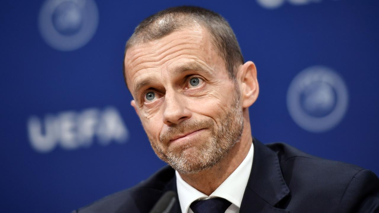 "UEFA president Aleksander Ceferin called the new Super League as ""spit in the face"" for supporters."