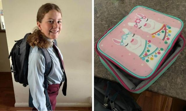 My daughter's started taking extra snacks to school - some for the mice and some for herself
