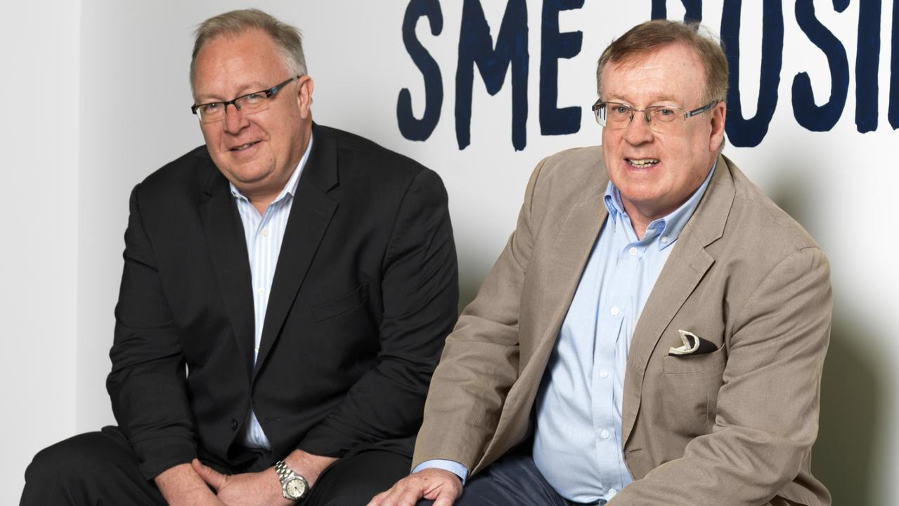 Judo Bank's Joseph Healy and David Hornery now head up a billion dollar company. Picture: Supplied
