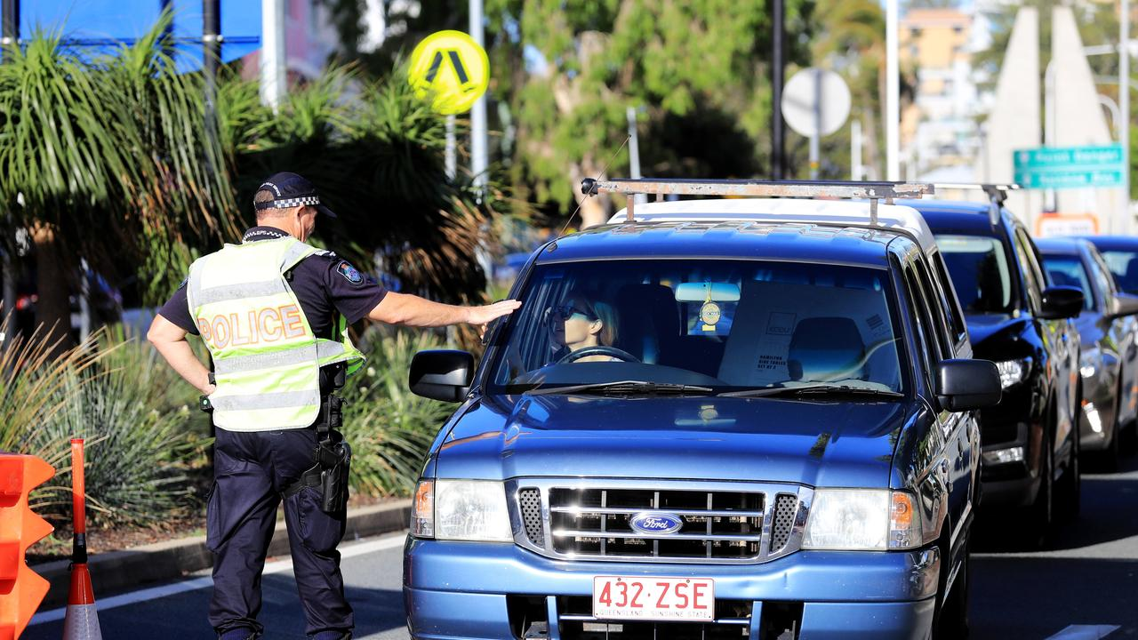 Police are concerned there will be an influx of travellers at the border. Picture: Scott Powick