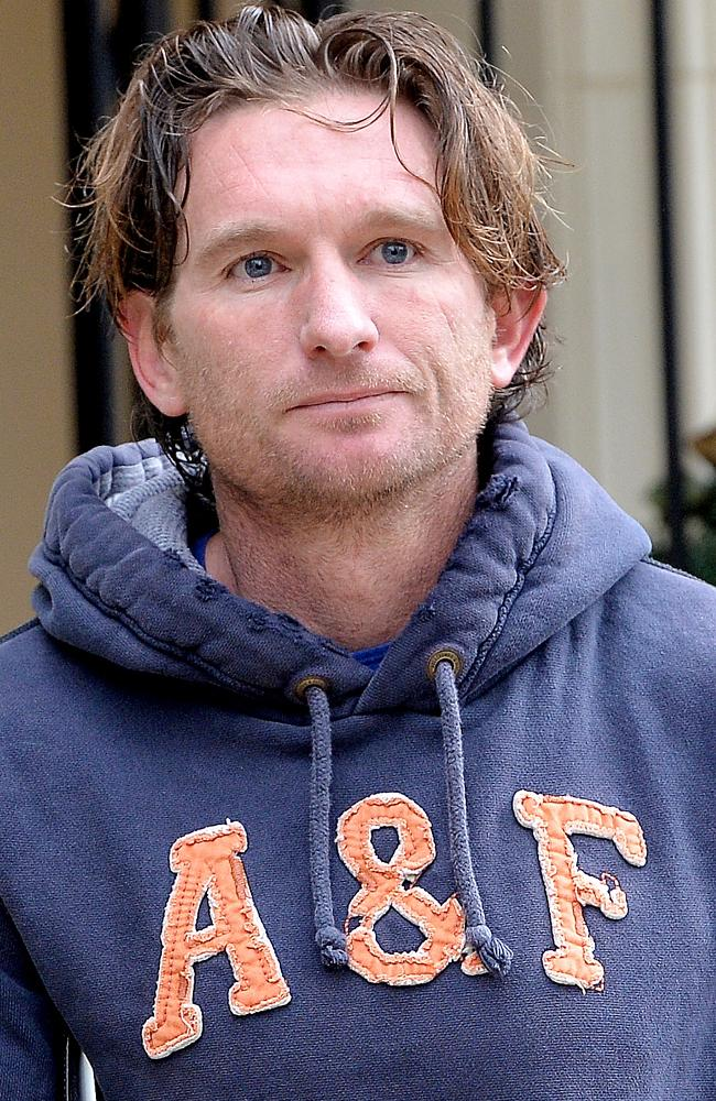 Banished Essendon coach James Hird is currently overseas. Picture: Nicole Garmston