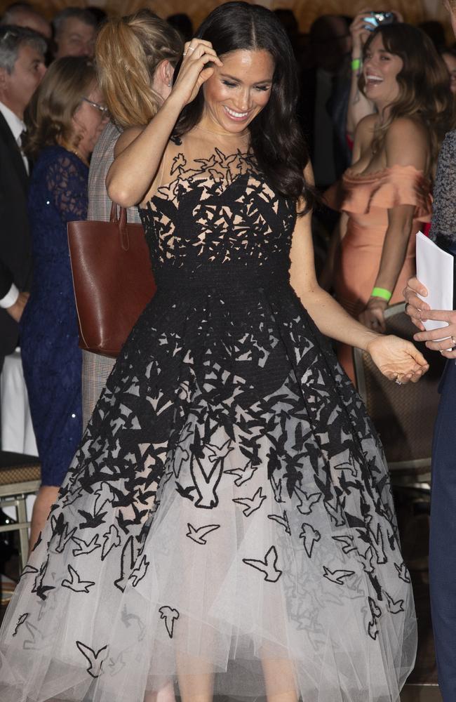 That stunning dress.