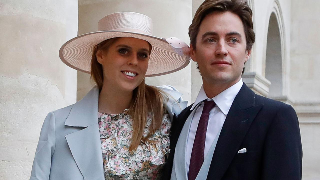 Princess Beatrice and Edoardo Mapelli Mozzi have headed off on a roadtrip honeymoon. Picture: Francois Guillot/AFP