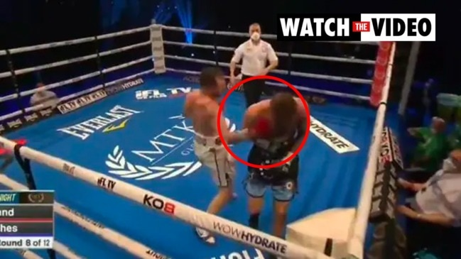 Sickening moment star knocked out after turning back to ring (MTK Global)