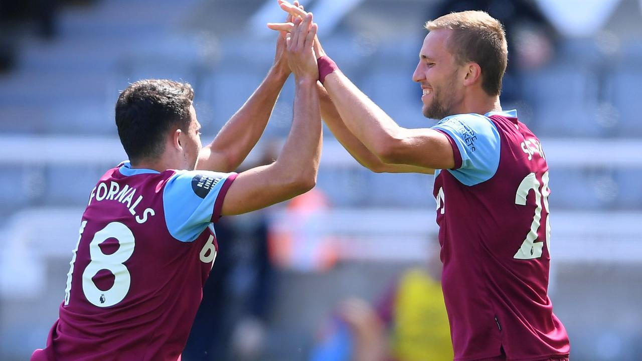 Tomas Soucek (right) looks a real bargain for the Hammers.